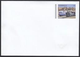 ÖSTERREICH 2016 ** Eisenbahn, Train, Ganzsache, Briefumschlag - Postfrisch - Entiers Postaux
