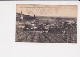 33 Langoiran Vue Générale Prise Des Vignobles à L'horizon Le Pont Et La Plaine De La Garonne - France