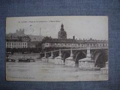 LYON  -  69  - Pont De La Guillotière  -  L'hôtel Dieu  -  Cachet Hôpital Municipal 5 Bis  -  RHONE - Altri