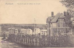 Membach - Vue De La Gare Et Château De La Forêt (1905) - Baelen
