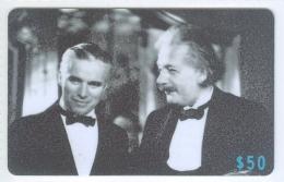 Hong Kong 2006 Bannia Namin-IDD, Famous People Albert Einstein And Charlie Chaplin
