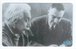 Hong Kong 2006 Bannia Namin-IDD, Famous People Albert Einstein And Oppenheimer