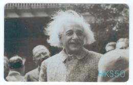 Hong Kong  2005 Famous People Albert Einstein