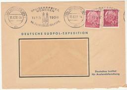 Cover * 1958 * Germany * 800 Jahrfeier München 1158-1958 * Deutsche Sudpol-Expedition - Briefe U. Dokumente