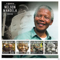 Uganda 2013 MNH Nelson Mandela In Memoriam 4v M/S II ANC Politicians Stamps - Famous People