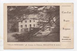 Villa Meriadec  Meudon 92 Bellevue Cure Repos Regime - Hotels & Restaurants