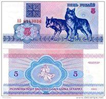 BIELORUSSIA BELARUS 5 RUBLES 1992 FDS UNC - Belarus