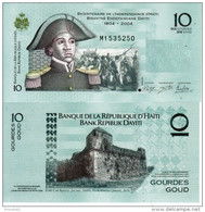 HAITI 10 GOURDES 2012  FDS UNC - Haiti