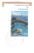 Used Stamp On Paper BARCELONA 03 WORLD SWIMMING CHAMPIONSHIPS Spain Espagne Espana 2003 - 2001-10 Gebraucht