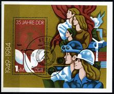 DDR - Michel Block 79 = 2902 - OO Gestempelt (C) - 35 Jahre DDR III - [6] Oost-Duitsland