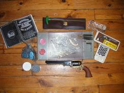 COLT NAVY 1851 Calibre 36 Revolver Poudre Noire Boîte Accessoires Munitions Détention Libre - Armes Neutralisées