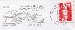 VOID PATRIE DE N.J. CUGNOT INVENTEUR DE LA 1ère VOITURE AUTOMOBILE 1725/1804   SUPERBE - Cars