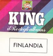 FINLANDIA Album MariniKing Con Taschine 1963-1979 - Francobolli