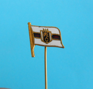 POLISH OCEAN LINES ( Poland Shipping Company ) Gdynia - Vintage Enamel Pin Badge Ship Navigation Anstecknadel Distintivo - Boats