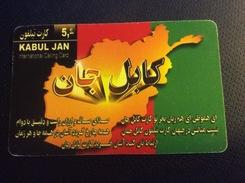Kabul Jan -   5 €  -  Arabic Letters    -  Used Condition - Telefonkarten