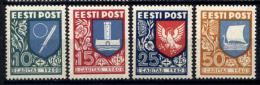 Estonia 1940 Unif.171/74 */MH VF/F - Estonia