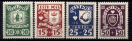 Estonia 1937 Unif.150/53 **/MNH VF/F - Estonia