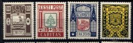 Estonia 1938 Unif.154/57 */MH VF/F - Estonia