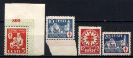 Estonia 1933 Unif.125/28 */MH VF/F - Estonia