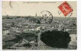 MONTPELLIER (34) - Vue Panoramique Sur La Ville - Montpellier