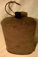 Ancienne Gourde Anglaise WW1 Et WW2 - Equipement