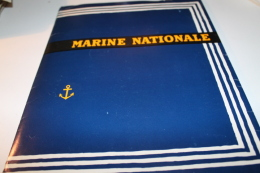 Plaquette De Visite De La Marine Nationale Années70 - Documentos
