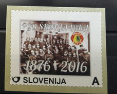 SLOVENIA  Personal Stamp Firefighter Community  Skofja Loka  MNH - Eslovenia