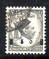 LYBIA LIBIA 1955 , N. 52 Usato . - Libya