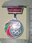 Moscow Olympic Games Badge Pin - Juegos Olímpicos