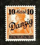 16211  Danzig 1920  Michel #31 I** ( Cat 32.€ ) Offers Welcome - Danzig