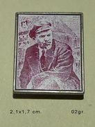 Lenine URSS Vladimir Ilyich Ulyanov Badge Pin - Personajes Célebres