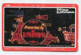 TK12745 JAPAN - 110-67652 Disney - Tokyo Disneyland - Disney