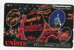 TK12746 JAPAN - 110-128896 Disney - Tokyo Disneyland - Disney