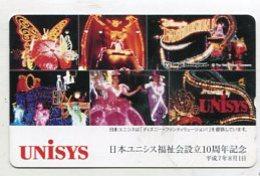 TK12747 JAPAN - 110-169874 Disney - Tokyo Disneyland - Disney