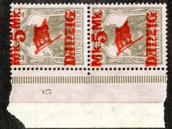 16225  Danzig 1920  Michel #45 II*  ( Cat 70.€ ) Offers Welcome - Danzig