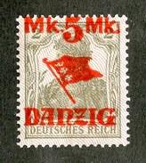 16226  Danzig 1920  Michel #45 II**  ( Cat 35.€ ) Offers Welcome - Danzig