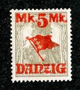 16227  Danzig 1920  Michel #45 II*  ( Cat 8.€ ) Offers Welcome - Danzig