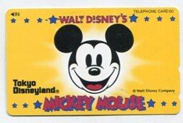 TK12765 JAPAN - 110-129209 Disney - Mickey Mouse - Disney