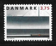 Denmark, Scott # 1071 Used Railway, 1997 - Danemark