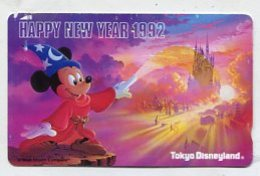 TK12784 JAPAN - 110-119920 Disney - Mickey Mouse - Disney
