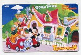 TK12793 JAPAN - 110-175863 Disney - Mickey & Pluto - Disney