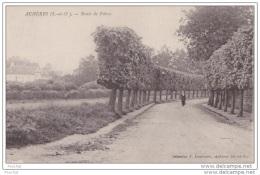 78) Achères (Seine Et Oise) Route De Poissy - Acheres