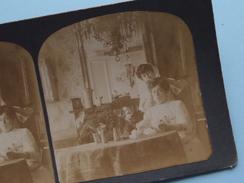 """"""" Woman By Hairdresser / Coiffeur."""" Stereo Photo ? ( Voir Photo Pour Detail ) !! - Photos Stéréoscopiques"""