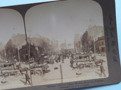 """ JACQUES "" CURTRER SQUARE MARKET, MONTREAL, CANADA "" Stereo Photo 1901 R Y Young ( Voir Photo ) !! - Photos Stéréoscopiques"
