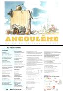 Carte-Programme - 44e Festival International De La Bande Dessinée - Angoulême 2017 - Ill. Hermann - [FIBD] - Livres, BD, Revues
