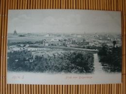 Halle Saale, Blick Vom Galgenberge, Ungelaufen - Halle (Saale)