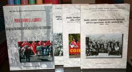 3 LIBRI -PER IL LAVORO E LA LIBERTà -UN SECOLO DI STORIA SINDACALE A LECCO E NEL TERRITORIO 1901-2001 - Libri, Riviste, Fumetti
