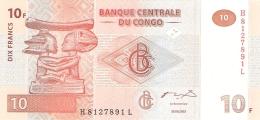 CONGO DEMOCRATIQUE REPUBLIQUE   10 Francs   30/6/2003    P. 93a   UNC - Democratische Republiek Congo & Zaire