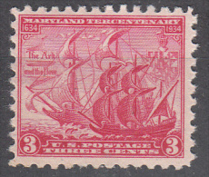 United States    Scott No.  736      Mnh   Year  1934 - Unused Stamps