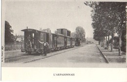 Tramway – L'Arpajonnais  - Arpajon – Reproduction : Syndicat D'Initiative D'Antony - Arpajon